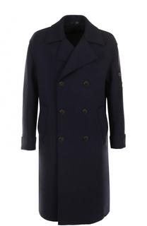 Двубортное кашемировое пальто Giorgio Armani