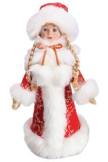 Кукла Снегурочка 38 см,красн. НОВОГОДНЯЯ СКАЗКА