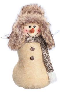 Кукла Снеговик-весельчак 32 см НОВОГОДНЯЯ СКАЗКА