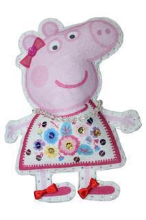 "Шьем игрушку ""Пеппа-модница"" Peppa Pig"