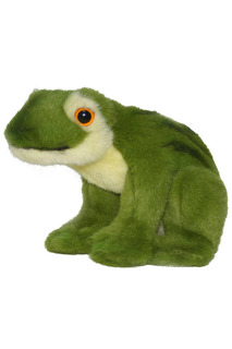 Зеленая лягушка, 16 см Hansa