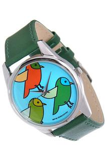 "Часы ""Три птички"" MITYA VESELKOV"