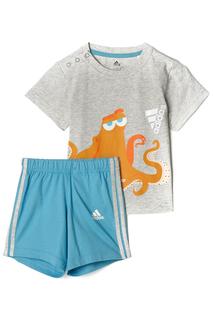 Футболка и шорты спорт. adidas