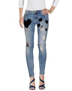 Джинсовые брюки Amami