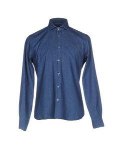 Джинсовая рубашка Andrea Morando