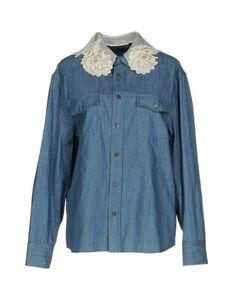Джинсовая рубашка Miu Miu