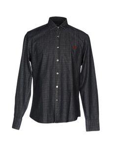 Джинсовая рубашка Fred Perry
