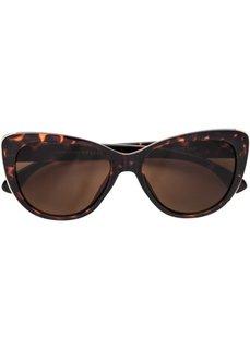 Солнечные очки Кошачий глаз (коричневый) Bonprix