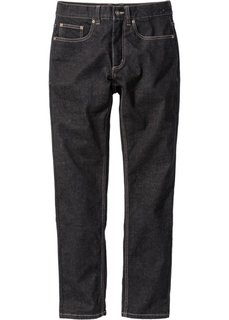 Джинсы-стретч Slim Fit Straight, длина (в дюймах) 32 (черный) Bonprix