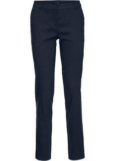Стрейтчевые брюки в офисном стиле, бенгалин (темно-синий) Bonprix