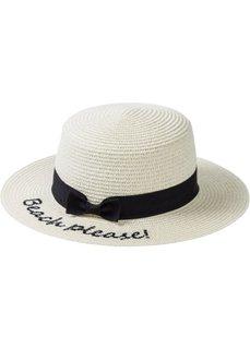 Пляжная соломеная шляпа (натуральный/черный) Bonprix