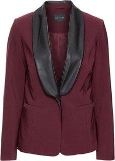 Пиджак (бордовый/черный) Bonprix