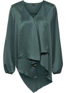Блузка (зеленая ель) Bonprix