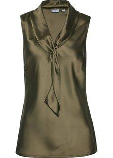Блузка (зеленый хаки) Bonprix