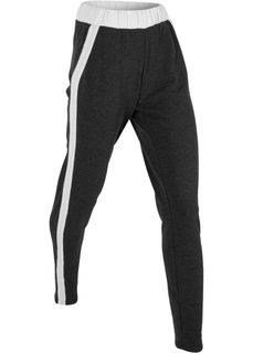 Длинные спортивные брюки (черный) Bonprix