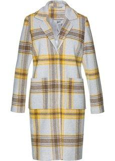 Пальто (светло-серый/желтый/серый) Bonprix
