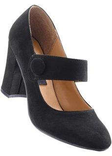 Туфли Мэри Джейн (черный) Bonprix