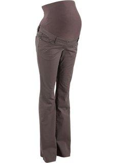 Твиловые брюки для беременных BOOTCUT (бурый) Bonprix