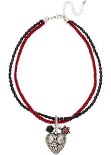 Цепочка в традиционном стиле Октоберфеста (красный/черный) Bonprix