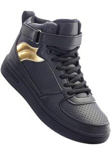 Кроссовки (черный/золотистый) Bonprix