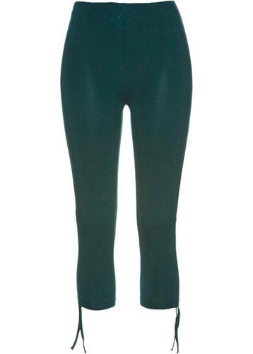 Легинсы-капри (насыщенный зеленый)