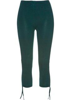 Легинсы-капри (насыщенный зеленый) Bonprix