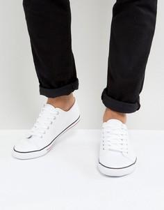 Белые кеды на шнуровке ASOS - Белый