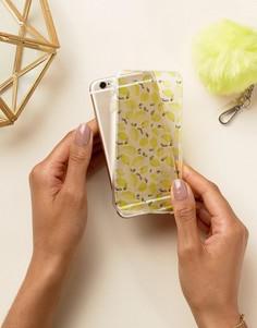Чехол для iPhone 6 с принтом лимонов Signature - Желтый