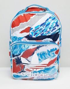 Классический разноцветный рюкзак adidas Originals BK7020 - Мульти