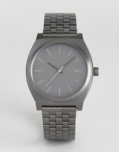 Серые часы Nixon Time Teller - Серый