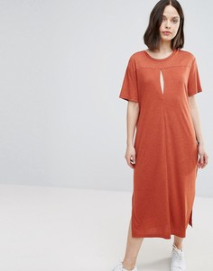 Платье-футболка Twiin - Оранжевый Twin