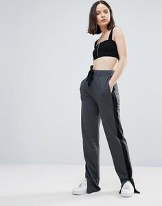 Спортивные штаны с полосой сбоку Twiin - Серый Twin