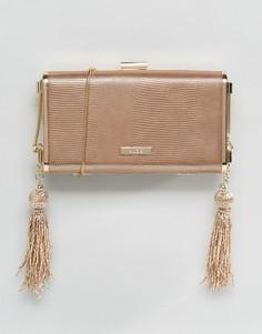 Клатч с ремешком-цепочкой через плечо ALDO - Золотой