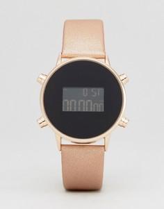 Цифровые часы ASOS - Кремовый