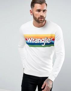Свитер с радугой Wrangler - Белый