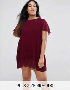 Платье-туника Lovedrobe Plus - Красный
