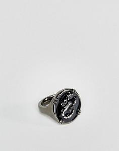 Серебристое кольцо со скорпионом ASOS - Серебряный