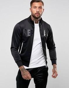 Спортивная куртка с логотипом Replay - Черный