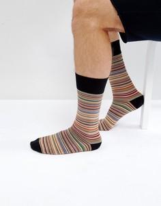 Классические носки в разноцветную полоску Paul Smith - Мульти