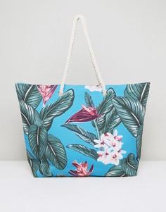 Пляжная сумка с гавайским принтом South Beach - Мульти
