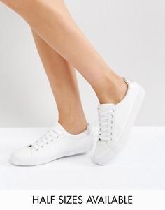 Кроссовки на шнуровке ASOS DARBY - Белый