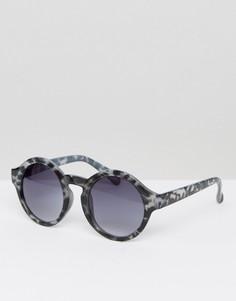 Серые черепаховые солнцезащитные очки 7X - Серый