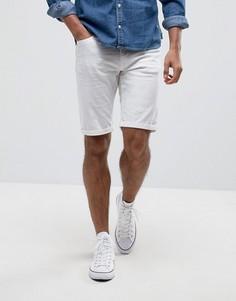Белые джинсовые шорты Blend - Белый
