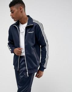 Темно-синяя спортивная куртка adidas Originals Beckenbauer BR2290 - Темно-синий