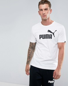 Белая футболка Puma ESS No.1 83824102 - Белый