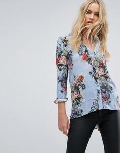 Рубашка с цветочным принтом Replay - Мульти