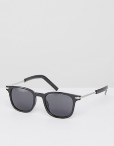 Квадратные солнцезащитные очки 7X - Черный