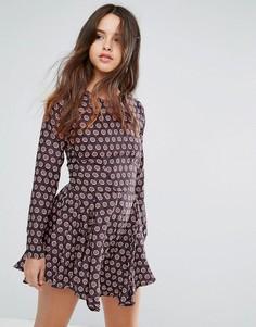 Платье с принтом Louche Billie - Мульти