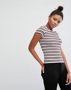 Полосатая футболка Monki - Мульти