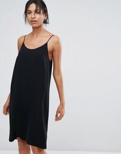 Платье на бретельках Just Female Aluna - Черный